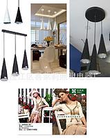 酒店竹笋型单头LED餐吊灯