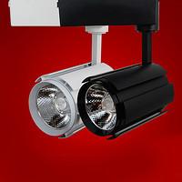 原装正品高亮LED一体化轨道灯30w办公室衣橱窗COB导轨射灯