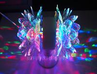 新款LED双头七彩旋转莲花灯舞台灯