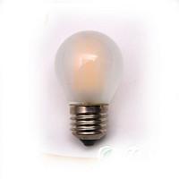 2W4W磨砂玻璃e14小螺口灯泡led灯丝灯