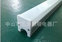 40*50mm方形PC奶白罩护栏管
