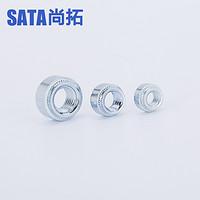 S系压铆螺母碳钢镀环保彩锌M3M4M6M8钣金螺母圆螺母