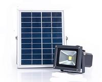 ABS塑胶压铸铝家用庭院太阳能投光灯投射灯