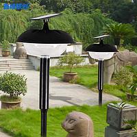 太阳能草坪灯户外防水庭院灯两用插地落地灯别墅景观灯