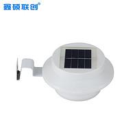 太阳能壁灯LED水槽灯别墅围栏灯庭院篱笆灯栅栏灯