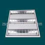 28W纯铝面罩喷粉铁皮格栅灯