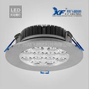 供应LED照明灯具批发 12W一体透镜 LED可调天花射灯