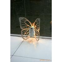 不锈钢装饰灯具 金属蝴蝶灯具 蝴蝶墙灯 酒店家居卧室灯 灯具