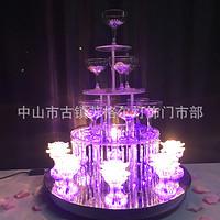八面玲珑香槟塔两用婚礼婚庆道具
