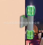 现代创意LED双头户外过道壁灯