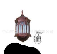宫廷古典六边形户外庭院过道壁灯