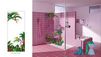 创意现代动物植物图卫浴玻璃
