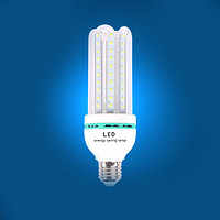 LED横插路灯户外光源4U16W2835贴片U型E27/B22/E40玉米节能灯