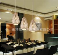 创意三头单头西餐厅吧台饭厅led餐吊灯
