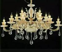 水晶蜡烛欧式吊灯奢华别墅工程灯具