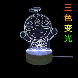 创意装饰LED现代3D护眼灯圣诞树小夜灯床头灯台灯