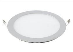 6W8W12W14W16W18W白色圆形嵌入式面板灯