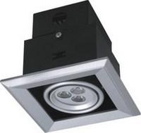 铝材大功率商场服装店酒店LED豆胆灯格棚灯