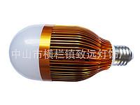 9*1w led 球泡灯外壳套件