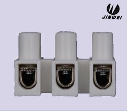 金维JW 铁片接线端子 3位注塑连接器