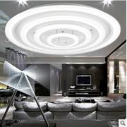新款圆形客厅卧室餐厅现代简约时尚智能无极调光led亚克力吸顶灯