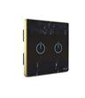欧创源 现代化大气暗色格调OCY-CM801触摸开关智能电子LED背光开关