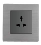 欧创源 标准型多功能五孔插