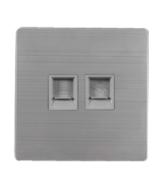 欧创源 机械插座MP-JX11 网络接口+电话接口