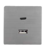 欧创源 机械插座MP-JX02 HDMI+USB数据插
