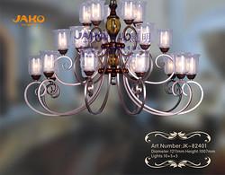 捷高照明 欧式简约客厅别墅吊灯装饰现代化吊灯