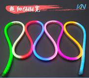 led霓虹灯带柔性灯条2835超细广告招牌中国结造型灯户外工程专用