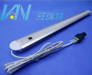 led超薄智能手扫灯条橱柜感应灯12V便捷铝槽展柜书架阅读定制