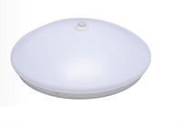LED吸顶灯红外线人体感应圆形灯声光控楼道灯具微波雷达