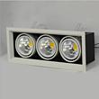 铝材展厅LED方形射灯斗胆灯