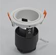 按钮式优质COB灯珠高档筒灯压铸铝筒灯