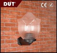 壁灯灯罩带条纹亚克力吹塑透明凹凸花灯罩