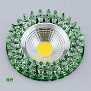巨光 3w led过道灯水晶玄关 现代简约走廊灯天花灯