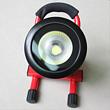 玖洲 led充电式投光灯 户外应急 5W 10W圆形红色 便携式手提应急照明灯