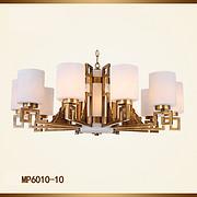 中式云石吊灯 中式全铜灯 新中式灯具