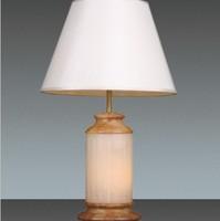 云石台灯 全铜台灯 卧房卧室装饰台灯