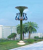 个性高3-4米LED庭院花园景观灯