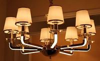 优雅大气8头餐厅客厅吊灯