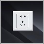 简约白色面板插座