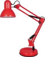 时尚红色折叠式家用照明台灯