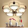 新中式吸顶灯客厅灯长方形led大气简约现代仿古卧室书房餐厅灯