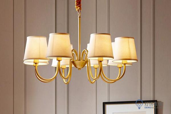 【美式灯价格】美式灯吊灯、台灯、落地灯等价格解析