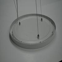 格庭l圆形超薄节能led集成吊顶平板面板灯