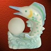 复古典雅陶瓷灯