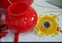 中式红色塑料灯笼节日灯