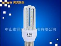 简约白色3U高亮led玉米灯